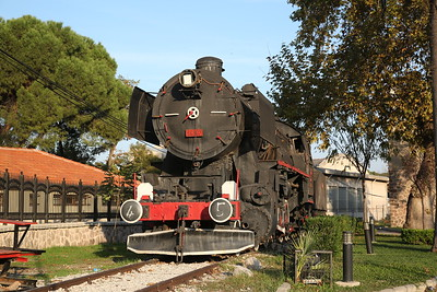 TCDD 2-10-0 'Kriegslok', 56 507, Plinthed at Manisa - 16/11/19