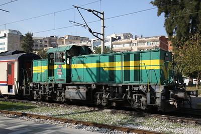 TCDD DE11 030 stabled at Izmir Basmane - 16/11/19