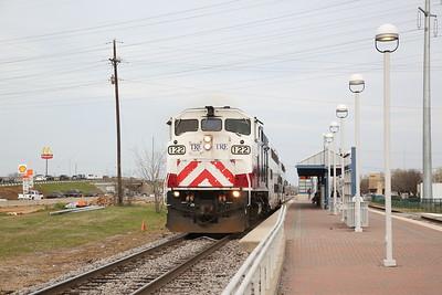 North American Railways, Texas, 8th-11th March 2019
