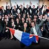 Presentatie Team Nederland, Harderwijk; Team & Robin van Galen