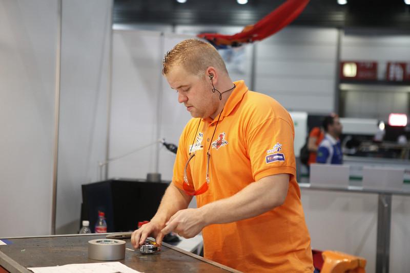 "Wouter van der Ven - Manufactoring Team Challenge<br /> <br /> Bron: <a href=""http://www.flickr.com/photos/worldskills/"">http://www.flickr.com/photos/worldskills/</a>"