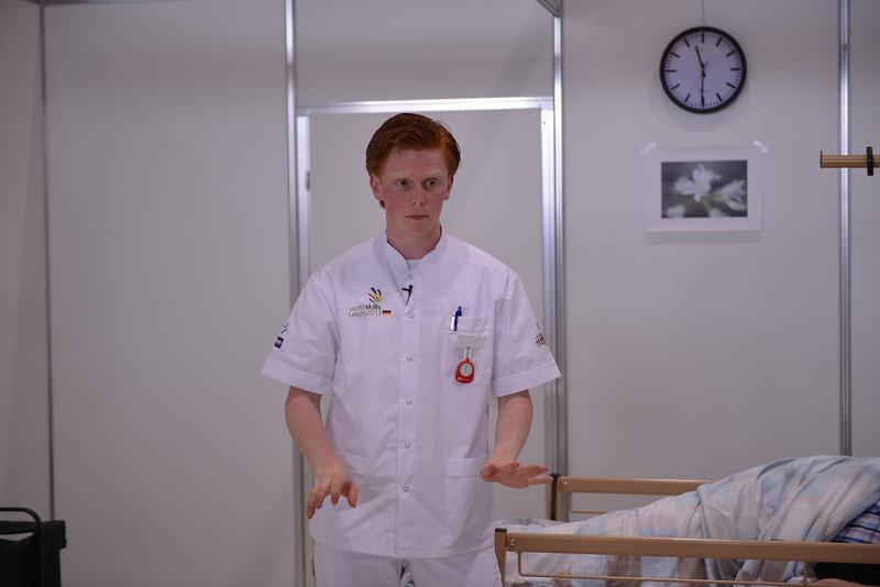 """Cok Steenbergen  -  Verpleegkunde<br /> <br /> Bron: <a href=""""http://www.flickr.com/photos/worldskills/"""">http://www.flickr.com/photos/worldskills/</a>"""