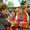 Olimpiada do Conhecimento - Visita de Dilma à Robotica SESI<br /> ©Mario Castello