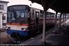 4 wheel railbus at Miki station