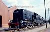 4112 GMAM Garratt South African Railways (Suid Afrikaans Spoorweg) Garratt locomotive 4-8-2+2-8-4 (Springbok) built by the North British Locomotive Works at Springburn (Hyde Park Works) under subcontract from Beyer Peacock of Manchester Summerlee Museum of Scottish Industrial Life, Coatbridge