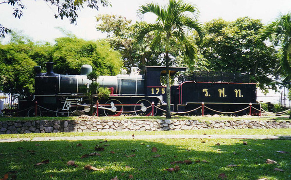 175 was built by North British and dates from 1919. Location Sungai Kolok in South Thailand