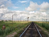 The railroad from Kazakhstan.