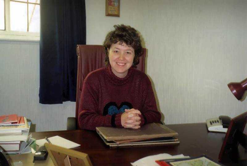 Rev Mairisine Stanfield, Pastor of First Presbyterian Church in Ballynahinch