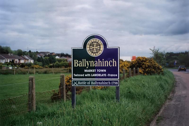 Ballynahinch ... Birthplace of My Grandmother, Annabella Gillespie Murphy