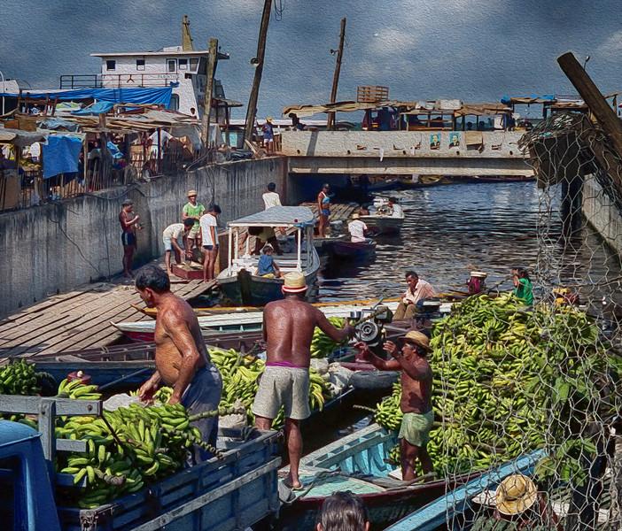 Banana boats.