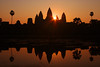 Angor Wat at Sunrise, Siem Reap, Cambodia