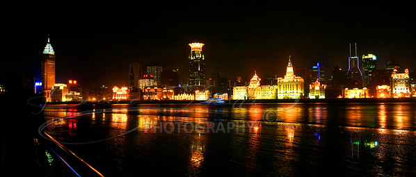 "The Shanghai ""Bund"" Night view"