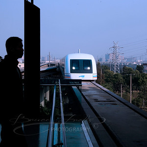 MAGLEV - High Speed train that runs on Magnetic Levitation
