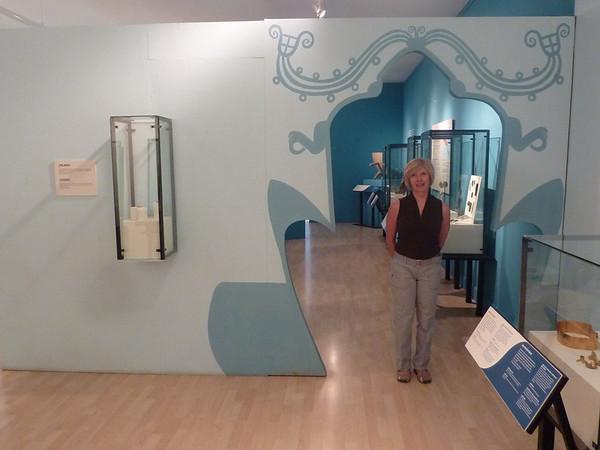 Marcia in Museum