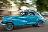 Classic American Car in Havana, Cuba