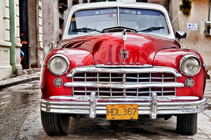 Havana, Cuba 1949 Dodge