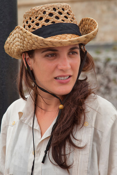 Young Cuban Woman