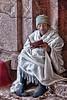 Worshiper in Lalibela