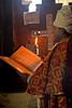 Priest at Yemrehanna Kristos Church, Lalibela