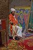 Priest at Bete Medhane Alem Chuch, Lalibela