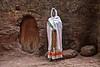 Worshiper at Lalibela