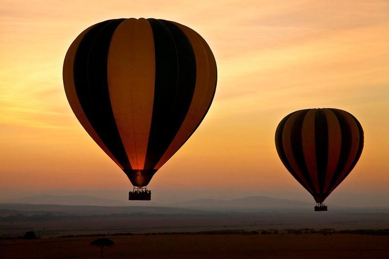 Hot Air Ballooing on the Masai Mara