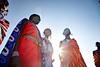 Masai Women singing and dancing