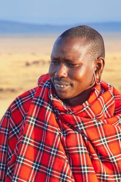 A Masai Warrior