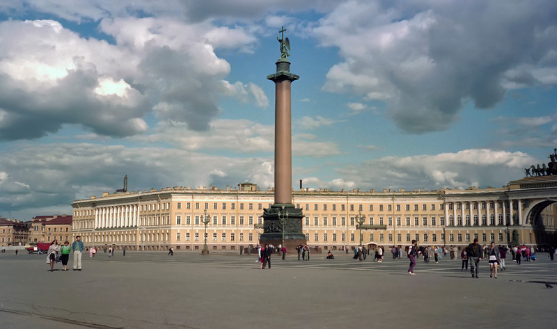Alexandr Column and the Palace Square