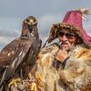 Eagle Hunter near Altai Tavan Bogd National Park
