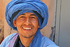 "Moroccan Berber known as the ""Blue Men"""