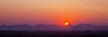 Panoramic sunset, Damaraland, Namibia