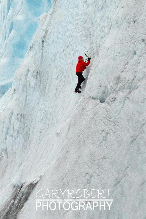 Ice Treking, Yes that's me!