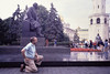 Bob Does Lenin in the Kremlin<br /> (The statue was removed from the Kremlin in 1995)<br /> September, 1988
