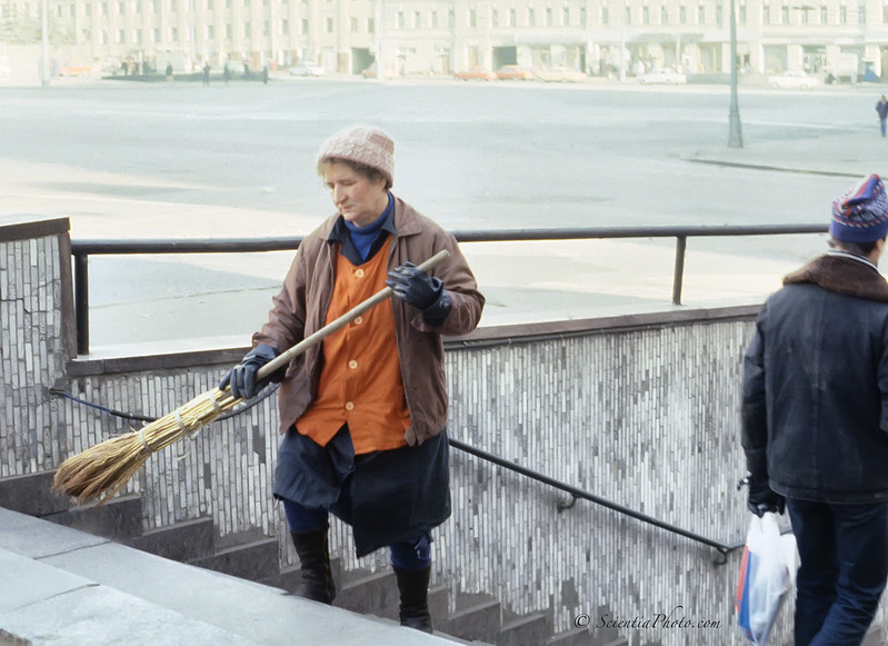 Russian Street Cleaner (1987)