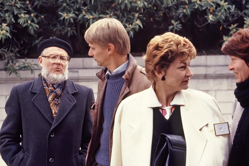 Juhan Ross, Piers Sellers, Natasha Vydodskaya, Svetlana Kondratyeva in Yalta