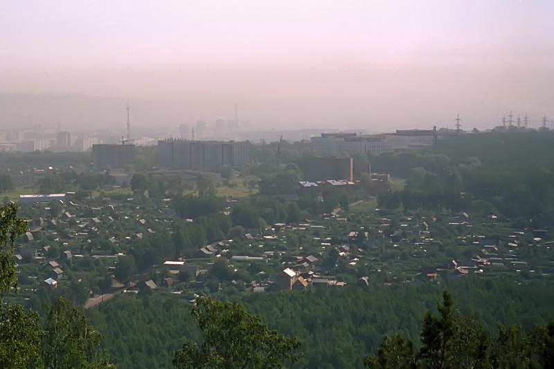 Industrial Pollution in Krasnoyarsk<br /> April, 1993