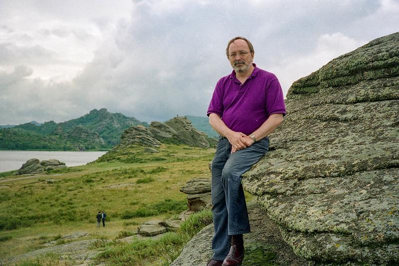 Bob at Kolyvanskoye Ozero North of Zmeinogorsk, Altai Rgion