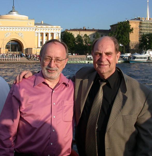 Bob & Akademician Alexandr Isaev (Leningrad 2005)