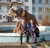 Bob & Ed at the Institute of Permafrost Research