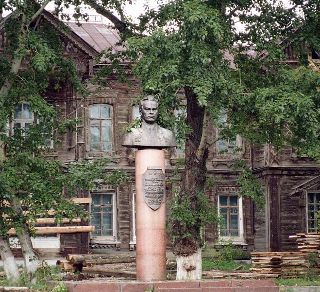 Kalishnikov's Elementary School (Kurya, Altai Region)