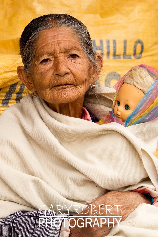 Grand Mother with Doll