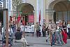 Street Scene Along Nevsky Prospekt