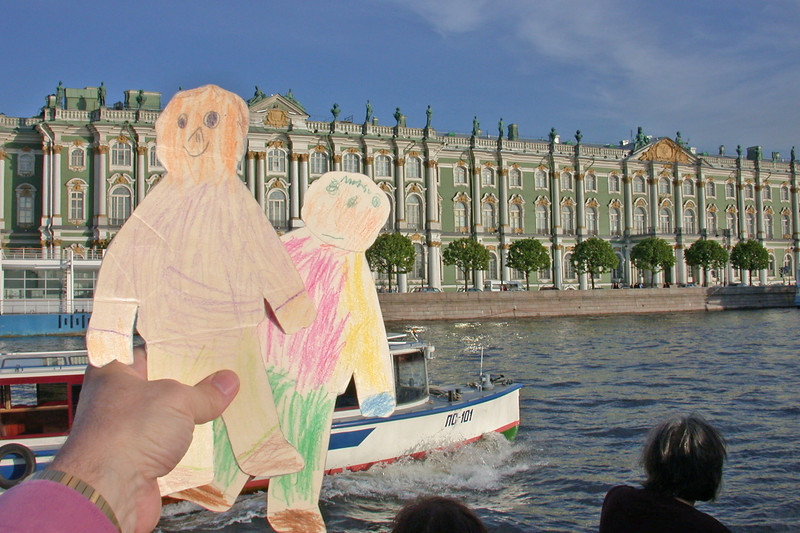 Flat Andy & Flat Eddy and the Winter Palace
