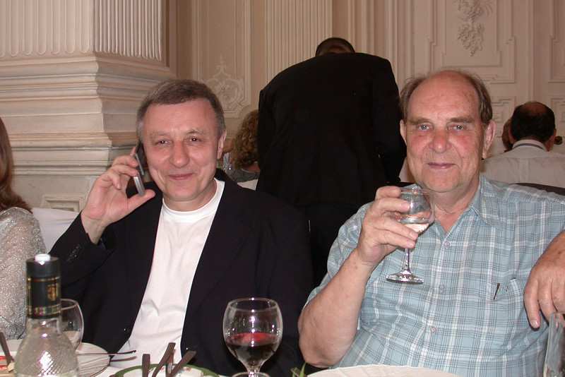 The New Russian and the Old Russian!<br /> The Young Colleague & Alexandr Isaev