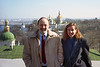 Bob & Leslie Powell on the grounds of Pechersk Lavra.