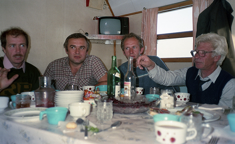 Every major Russian cooperative effort involves a great deal of vodka at one time or another. Isolated on the Lena River, we had plenty of time to discuss, decide and drink, though not necessarily in that order.