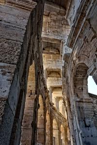 A Roman amphitheatre in Arles France