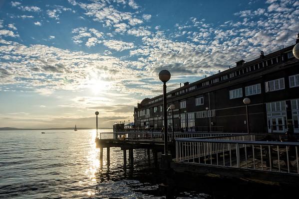 The aquarium on the pier of Seattle, Washington