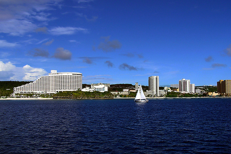 Tumon Bay, Guam. July 2005